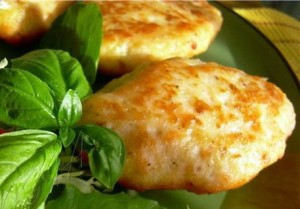 Cutlets from sardinella